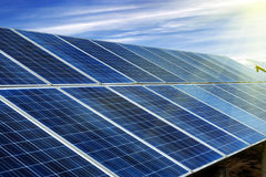 Photovoltaic Cells Stock Images