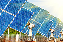 Photovoltaic Cells Royalty Free Stock Images
