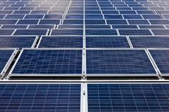 Photovoltaic Cells - Solar Panels Stock Photo