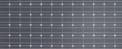 Photovoltaic cells for solar power Stock Images