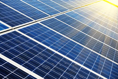 Photovoltaic cells Royalty Free Stock Photography