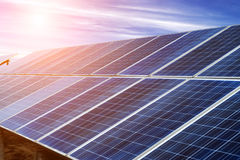 Photovoltaic cells Royalty Free Stock Photos