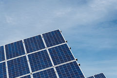 Photovoltaic Comités Royalty-vrije Stock Afbeelding
