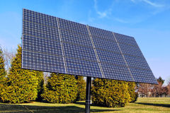 Photovoltaic Electrical Energy Solar Panels Array Royalty Free Stock Photo