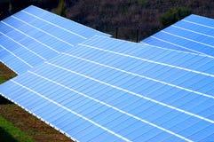 Photovoltaic elektrische centrale royalty-vrije stock afbeeldingen