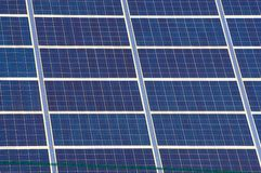 Photovoltaic elektrische centrale royalty-vrije stock foto's