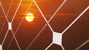Photovoltaic energy Stock Photos