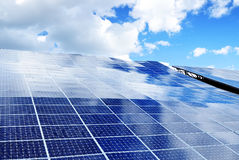 Photovoltaic energy Royalty Free Stock Photography