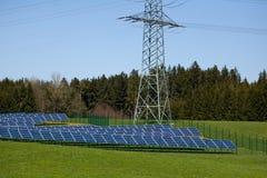 Photovoltaic field Stock Photos