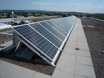 Photovoltaic zdjęcie royalty free