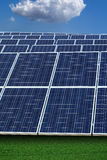 Photovoltaic installation Royalty Free Stock Image