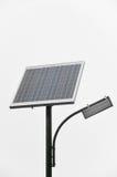 Photovoltaic jawny oświetlenie Zdjęcia Royalty Free