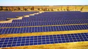 Photovoltaic machtssystemen stock videobeelden