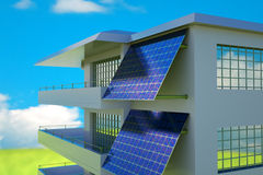 Photovoltaic module Royalty Free Stock Image