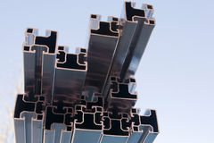 Photovoltaic module fixing Stock Images