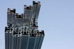 Photovoltaic module fixing Royalty Free Stock Images