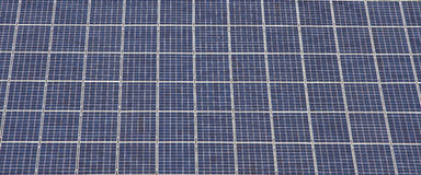 Photovoltaic module Stock Images