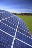 Photovoltaic modules Royalty Free Stock Photography