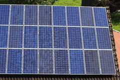 Photovoltaic modules Stock Images
