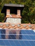 Photovoltaic paneel Royalty-vrije Stock Foto's