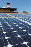 Photovoltaic paneel Royalty-vrije Stock Fotografie