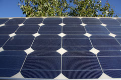 Photovoltaic panel Stock Photo