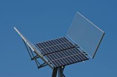Photovoltaic panel Royaltyfria Bilder