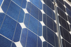Photovoltaic panel closeup Stock Photography