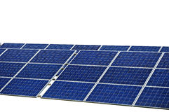 Photovoltaic panel isolated Stock Photography