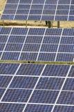 Photovoltaic panelen Stock Afbeeldingen