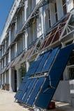 Photovoltaic paneler Fotografering för Bildbyråer