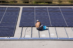 Photovoltaic panels royalty free stock image