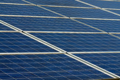 Photovoltaic panels Royalty Free Stock Photos