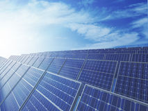 Photovoltaic panels Stock Image