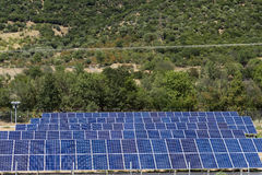 Photovoltaic panels. Photovoltaic panels solar field Royalty Free Stock Images