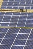 Photovoltaic panels. Detail of a photovoltaic panels Stock Images