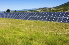 Photovoltaic panels Royalty Free Stock Images