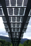 Photovoltaic Panels in Brixen Stock Photos
