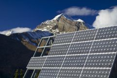 Photovoltaic panels Stock Photography