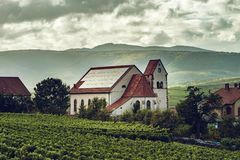 Free Photovoltaic Panels On The Church Roof In Alsace Royalty Free Stock Photo - 136256835