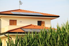 Photovoltaic panels - Solar energy Stock Photography