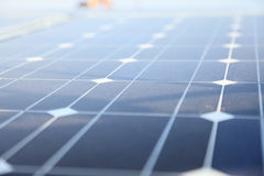 Photovoltaic panels - solar energy concept Stock Image