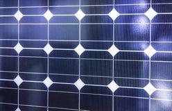 Photovoltaic panelu słonecznego tło Zdjęcie Stock
