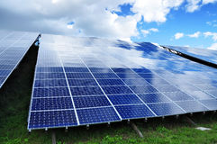 Photovoltaic plant Stock Photography