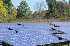 Photovoltaic power solar farm Royalty Free Stock Image