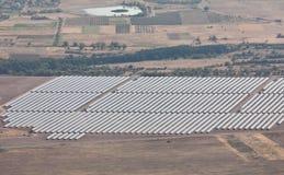 Photovoltaic power station near Kazanlak Stock Images