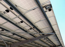 Photovoltaic roof Stock Image