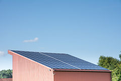 Photovoltaic Roof Stock Photography