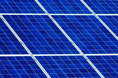 Photovoltaic solar cell panels. As renewable energy source Stock Photography