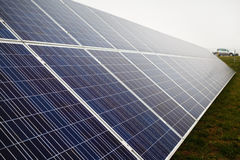 Photovoltaic solar farm Royalty Free Stock Photography